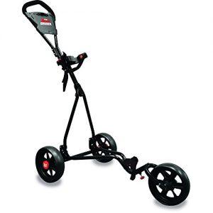Longridge-Chariot-Junior-3-Roues-Ajustable-Golf-NoirRouge-0