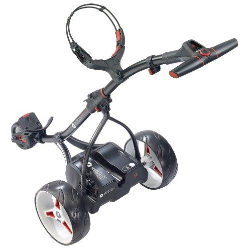 Chariot-de-golf-lectrique-Motocaddy-S-1-Noir-avec-batterie-de-lithium-0