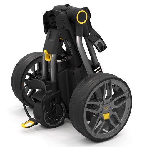 Chariot-de-golf-lectrique-Powakaddy-C2-compact-avec-batterie-de-lithium-1827-Hoyos-couleur-Gris-mtal-fonc-0