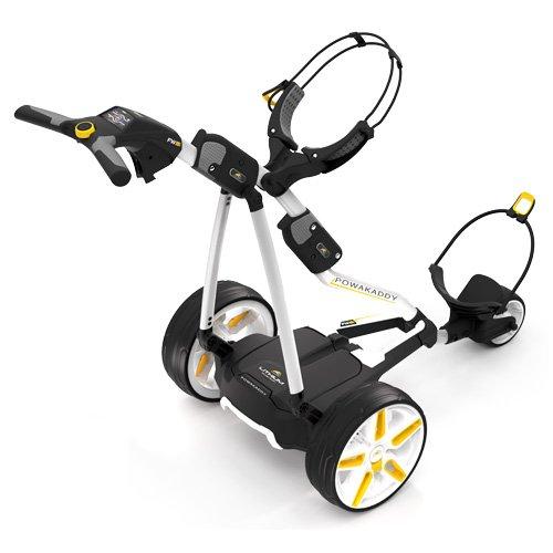 Chariot-de-golf-lectrique-Powakaddy-fw5i-Blanc-avec-batterie-de-lithium-0