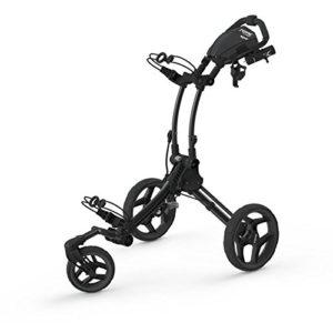 2016-Clicgear-Rovic-RV1S-3-Wheel-PullPush-Golf-TrolleyCart-CharcoalBlack-0