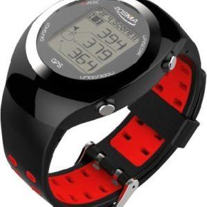 Montre-POSMA-GT2--GPS-intgr-et-calcul-de-distances-circuits-de-golf-pr-chargs-sans-tlchargements-et-sans-abonnement-Canada-Europe-Australie-Nouvelle-Zlande-Asie-rouge-0