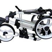 QWIK-FOLD-Chariot–3-Roues-Chariot-De-Golf–Pousser–Tirer-Frein-Au-Pied-Une-Seconde-Pour-LOuvrir-Et-Le-Fermer-BlancBlanc-0-0