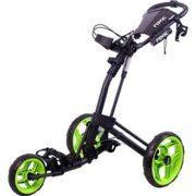 2016-Clicgear-Rovic-RV2L-3-Wheel-PullPush-Golf-TrolleyCart-CharcoalLime-0