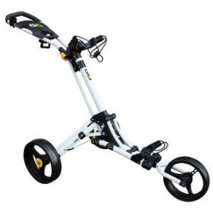 Chariot-de-golf-iCart-Go-3-roues-Blancjaune-0