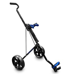 Longridge-Chariot-Junior-Acier-Golf-Noir-0