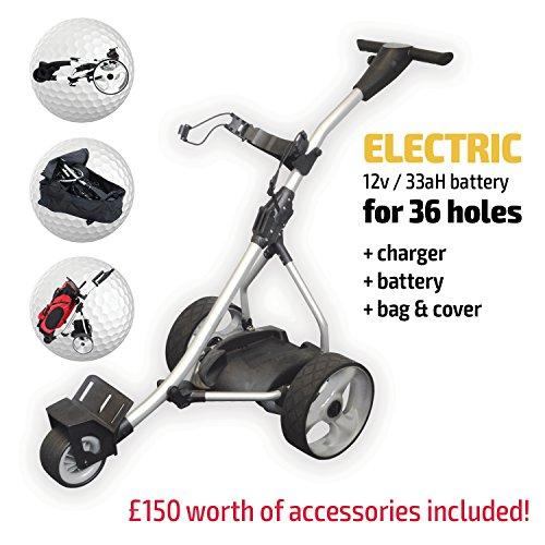 Chariot-de-golf-lectrique-Rider-Silver-Electric-Golf-Trolley-Silver-0