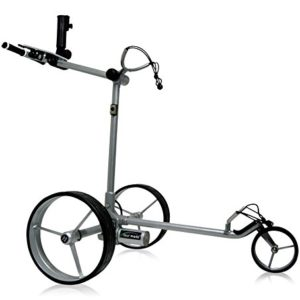 Tour-Made-RT-610li-V2-Quick-Fold-Lithium-Chariot-lectrique--avec-frein-lectronique-de-Montagne--Poids-seulement-89-kg--Cadre-Argent-0