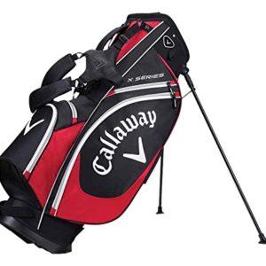 Calaxay-X-Series-Sac-trpied-de-golf-unisexe-pour-adultes-Noirrougeblanc-Taille-unique-0