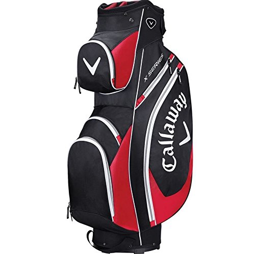 achat callaway homme s rie x sacs de club de golf taille unique noir rouge blanc chariot golf. Black Bedroom Furniture Sets. Home Design Ideas