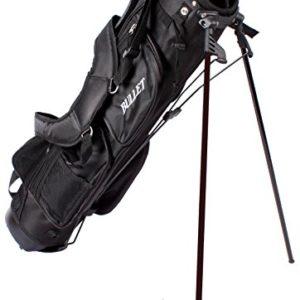 Sac-de-golf-Bullet-de-luxe-lger-6-pouces-noir-0