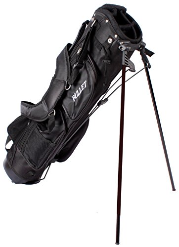achat sac de golf bullet de luxe l ger 6 pouces noir. Black Bedroom Furniture Sets. Home Design Ideas