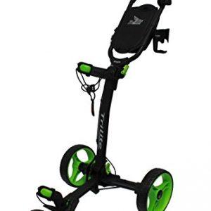 Axglo-Axtrilite-Chariot-de-Golf-Mixte-Adulte-NoireVert-0