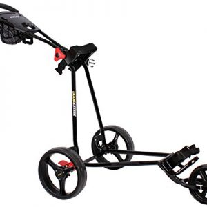 Bullet-Chariot-de-golf-Aluminium-3-roues-Pliable-Chariot-mobile-Caddy-0