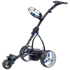 Chariot-de-golf-lectrique-Motocaddy-S-5-conect-noir-avec-batterie-de-lithium-de-36-Hoyos-0