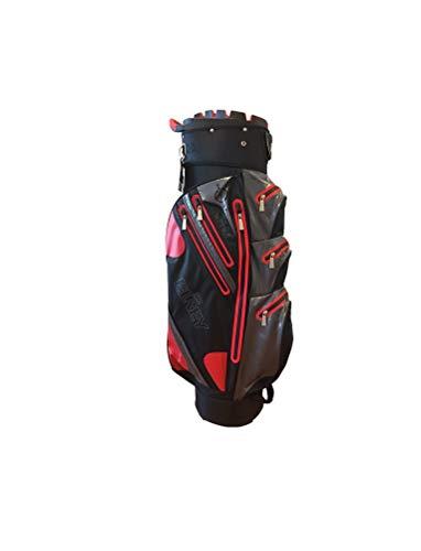 Elrey-Aqua-Sac-de-Golf-Professionnel-tanche-100-tanche-BlackRedGrey-0