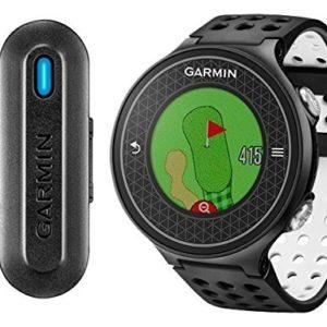 Garmin-Approach-S6-Truswing-Pack-Montre-GPS-de-Golf-Capteur-dAnalyse-Swing-Noir-0