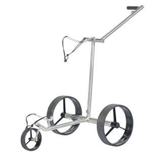 Tour-Made-Haicaddy-Quick-Fold-Lithium-Chariot-lectrique--avec-frein-lectronique-de-Montagne--Poids-seulement-89-kg--Stainless-steel-0