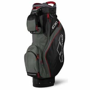 Sun-Mountain-SUM18S1L-Sac-de-Golf-Mixte-Adulte-NoirGunmetalRouge-0