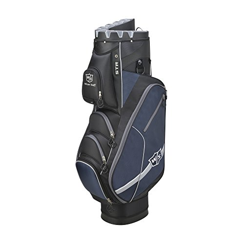 Wilson-Golf-WGB4319BL-Sac-Chariot-Homme-NoirBleu-Taille-Unique-0