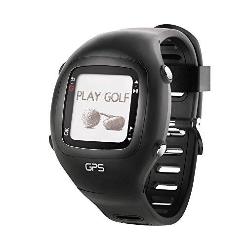 Dreamsport-Montre-Golf-GPS-tlmtre-GPS-de-Golf-scoreur-Noir-avec-Bande-de-Silicone-DGF201-0