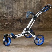 Golftrolley-Yorrx-SL-Pro-7-HAMMA-PLUS-en-bleu-Alu-Pushtrolley-Golfwagen-Pushtrolley-Golfcart-0