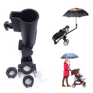 Muttify-Parapluie-universel-support-de-15-mm-25-mm-30-mm-38-mm-Poigne-en-option-connecteur-Tailles-pour-chariot-de-golf-vlo-bb-Poussette--Pche-Plage-Chaise-Fauteuil-roulant-avec-cadres-ronds-Taille-15-0