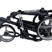 QWIK-FOLD-Chariot–3-Roues-Chariot-De-Golf–Pousser–Tirer-Frein-Au-Pied-Une-Seconde-Pour-LOuvrir-Et-Le-Fermer-NoirCharbon-0-0