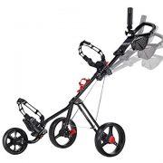 Caddytek-chariot-de-golf-pousse-3-roues-Superlite-Deluxe-avec-Practise-Balles-de-golf-et-tees-de-100-pcs-KitsNoir-0-0