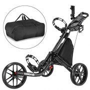 Caddytek-facile-pliage-chariot-de-golf-3-roues-et-avec-le-sac-dentreposage-gris-fonc-0