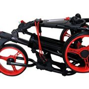 QWIK-FOLD-Chariot–3-Roues-Chariot-De-Golf–Pousser–Tirer-Frein-Au-Pied-Une-Seconde-Pour-LOuvrir-Et-Le-Fermer-NoirRouge-0-0