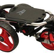 Axglo-Trilite-Chariot-de-Golf-Mixte-Adulte-GrisRouge-0-0