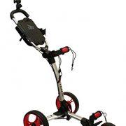 Axglo-Trilite-Chariot-de-Golf-Mixte-Adulte-GrisRouge-0