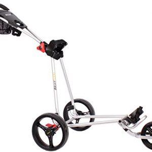 Bullet-5000-Chariot-de-golf-professionnel-pliable-disponible-en-blanc-noir-et-argent-argent-0