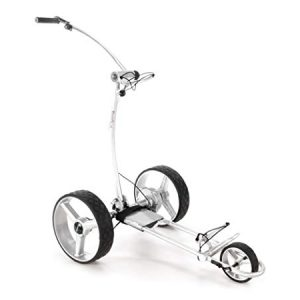 BeeGon-Chariot-de-Golf-lectrique-Chariot-GT-X400-Pro-USB-Silver-Edition-0