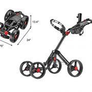 Caddytek-Superlite-Explorer-4-roues-chariot-de-golf-gris-fonc-avec-sac-de-rangement-0-0