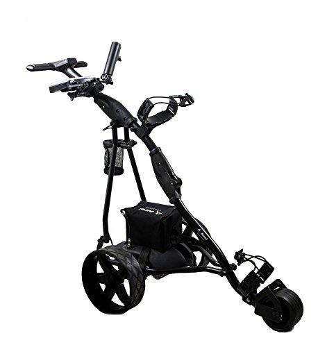 Kenrod-Chariot-de-Golf-lectrique-pliable-avec-cran-digital-automtico-rouge-0