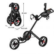 Caddytek-Quad-pliage-chariot-de-golf-3-roues-Super-Deluxe-et-avec-le-sac-dentreposage-Noir-0-0