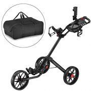 Caddytek-Quad-pliage-chariot-de-golf-3-roues-Super-Deluxe-et-avec-le-sac-dentreposage-Noir-0
