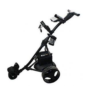 Kenrod-Chariot-de-Golf-lectrique-pliable-avec-cran-digital-automtico-noir-0