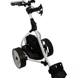 Zerimar-Kenrod-Chariot-de-Golf-lectrique-Pliable-avec-cran-Digital-automtico-Blanc-0