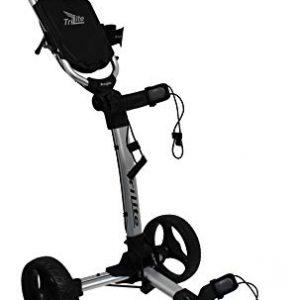Axglo-Trilite-Chariot-de-Golf-Mixte-Adulte-GrisNoir-Taille-Unique-0
