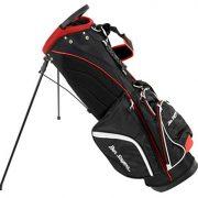 Ben-Sayers-G6420-Sac-de-Golf-Mixte-Adulte-NoirRouge-85-inch-0-0
