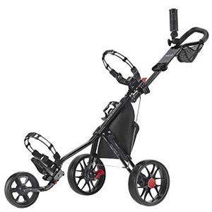 Caddytek-CaddyLite-115-V3-Deluxe-Golf-Push-Chariot-Black-0
