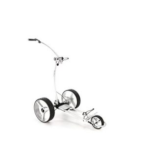 Chariot-de-golf-lectrique-BeeGon-Chariot-GT-X400-Pro-Lithium-USB-Silver-Edition-0