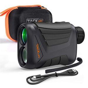 TACKLIFE-Tlmtre-Golf-800m-Tlescope-Monoculaire-900yd-Grossissement-7x24mm-Prcision-de-Distance-1m-de-Vitesse-5kmh-dangle-1-Verrouillage-du-Mt-Chasse-Batterie-Rechargeable-IP54-MLR01-0