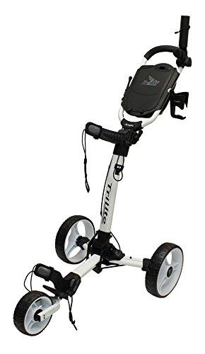 Axglo-Trilite-Chariot-de-Golf-Mixte-Adulte-GrisVert-Taille-Unique-0