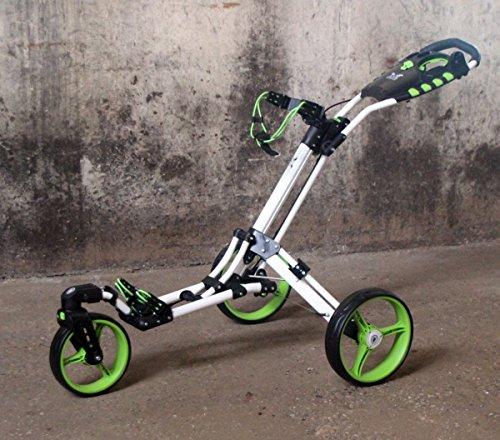 Chariot-de-golf-Yorrx-SL-Pro-7-HAMMA-PLUS-en-vert-Alu-Pushtrolley-Golfwagen-Pushtrolley-Golfcart-0