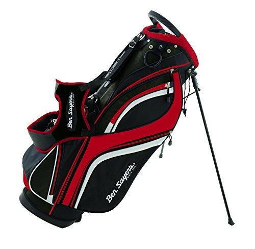Ben-Sayers-G6420-Sac-de-Golf-Mixte-Adulte-NoirRouge-85-inch-0