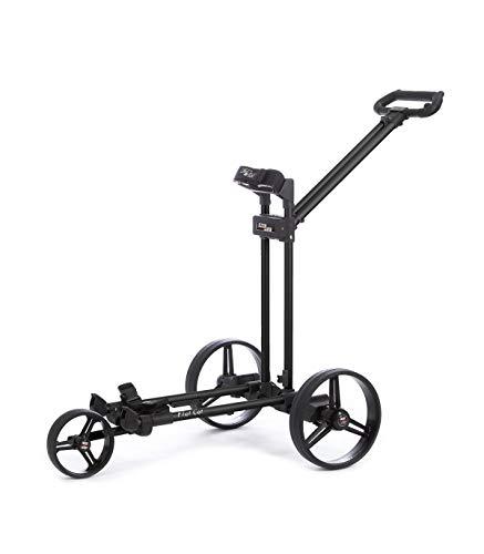 FLATCAT-Chariot-de-Golf-lectrique-Gear-Silver-Pliable-en-Aluminium-anodis-et-Fibre-de-Verre–Batterie-Lithium-27-36-Trous–Frein-Moteur-Vitesse-mmorisable–Poids-74-kg-0